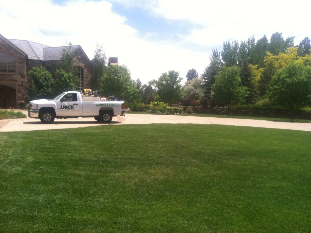 J. Rick is Colorado Springs' lawn care service providers.