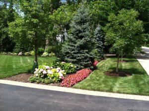 Beautiful lawn service provided by J. Rick Lawn & Tree